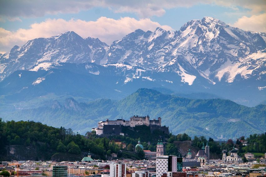 S dětmi do Salzburgu