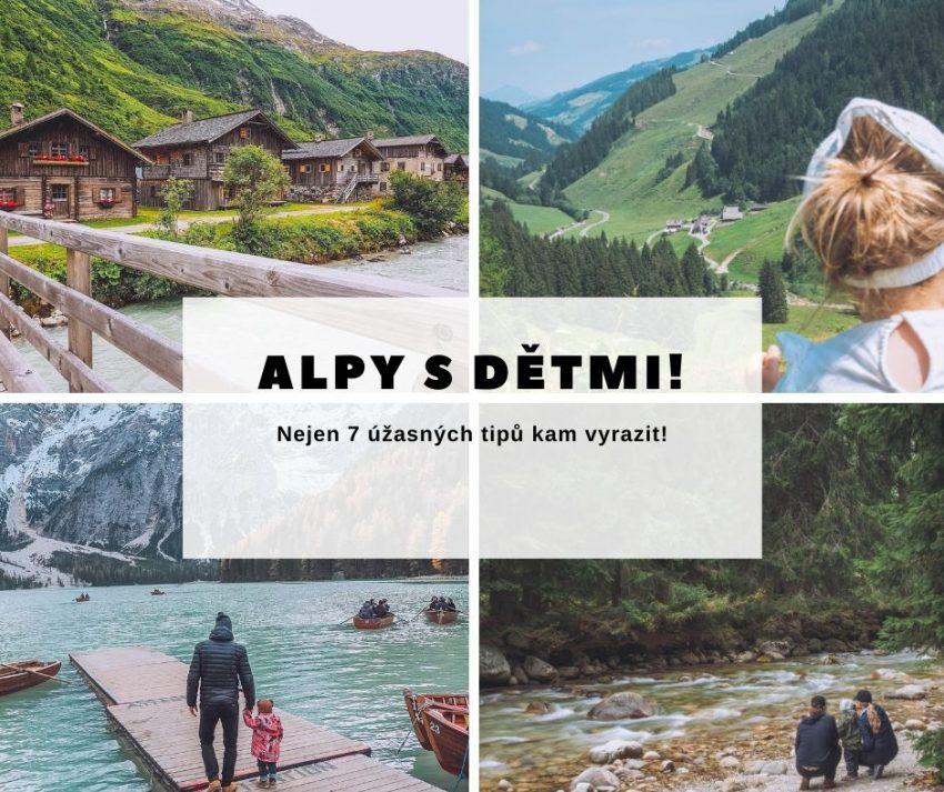 Alpy s dětmi