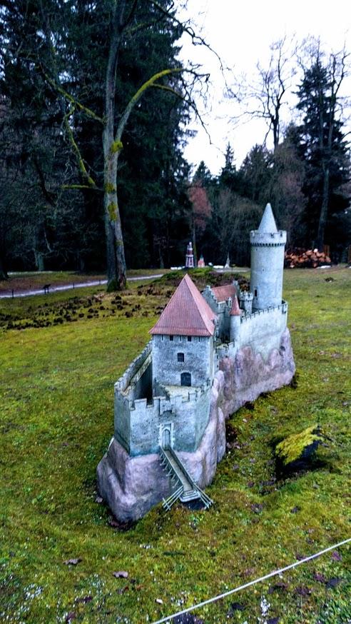 Park Boheminium hrad Kokořín