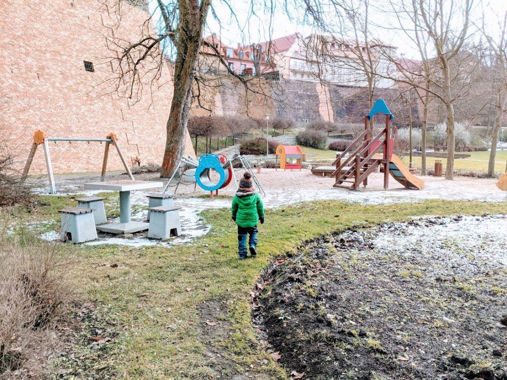 Hřiště pro děti 1-6 let