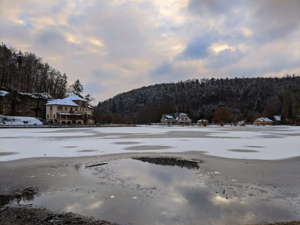 rybník Harasov