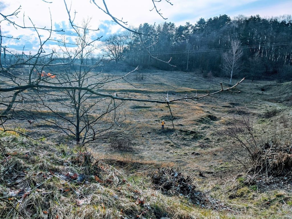 Komorní hůrka - kráter